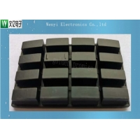 Buy cheap Black Conductive 16 Keys Matrix 50 Degree Silicone Rubber Keypad product