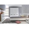 Buy cheap Alkali Resistant 3 Door Mirrored Wardrobe With Khaki High Gloss Bedroom Set product