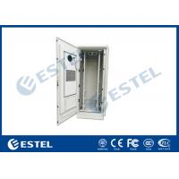 Buy cheap 48U Outdoor Telecom Equipment Cabinet With Anti-theft Lock Cover Temperature from wholesalers