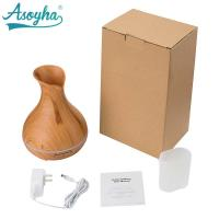 Buy cheap 300ml PP Material Atomizer Aroma Air Humidifier Wood Grain For Office Home product