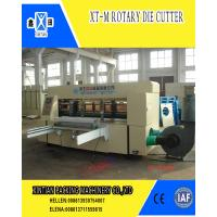 Buy cheap Rotary Die Cutter Carton Manufacturing Machine High Speed from wholesalers