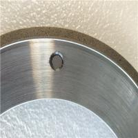 Quality 164*6*105*3*3 Metal bonded diamond grinding wheel, bronze grinding wheel, for sale