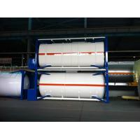 Buy cheap Large Capacity Horizontal Co2 ISO Tank Container , Cryogenic Liquid Tank product