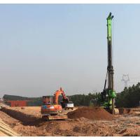 Buy cheap 43M Depth 1.3M Dia Foundation Drilling Rigs / Hydraulic Pile Driving Rig product