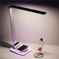 Buy cheap QI certificate wireless charger led desk lamp with USB port from wholesalers