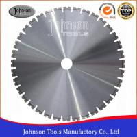 Buy cheap 600-1600mm Laser Welded Wall Saw Blades Without Flush - Cut Bolt Holes product