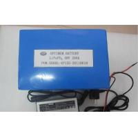 Buy cheap 48V 15AH LiFePo4 Motive Batteries For Electric Bike / scooter / tricycle / golf cart product