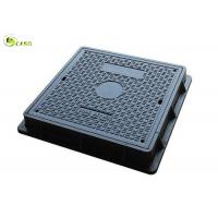 China Heavy Duty Road Drain Grates BMC Sewer Manhole Cover FRP Square Drainage Systems on sale