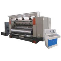 Buy cheap Single Facer Flute Cardboard / Corrugated Cardboard Production Line Electric Driven Type product
