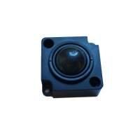 Buy cheap 25.mm Black Optical Trackball Module With Quadrature Output for IPC product