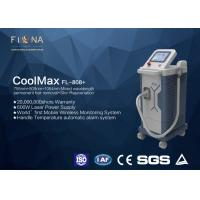 Buy cheap Apollomed Triple - Wave Diode Laser Hair Removal Machine With Automatic Alarm System product