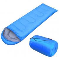 Quality Blue / Green Backpacking Sleeping BagTear Resistant With Single - Layer Structure for sale