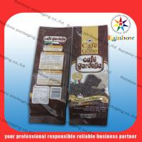 Buy cheap Mylar aluminum foil tea bags packaging with flexible valve product