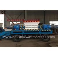 Buy cheap Two Shaft Industrial Waste Shredder Machine Custom Capacity For Waste Wood from wholesalers