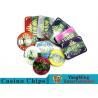 Buy cheap Beautiful Pattern Luxury Casino Poker Chip Set With Embedded Iron Plates product