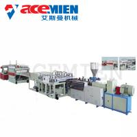 Buy cheap PVC Foam Boad Plastic Plate Making Machine With Capacity 400kg/H 600kg/H product