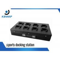Quality 8 Ports Police Body Camera Docking Station With Charging And Uploading for sale