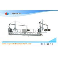 Buy cheap 1.8KW * 2 Aluminum Suspended Access Platforms ZLP800 With 8.6mm Steel Wire Rope product