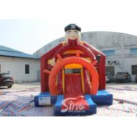 Buy cheap Outdoor Pirate Inflatable Bounce Slide Combo For Kids Outdoor Party Fun product