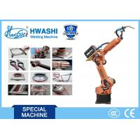 Buy cheap CNC HwashiSix Axis Industrial Industrial Welding Robots Arm 1400mm Reaching Distance product