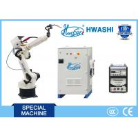 Buy cheap 8KG Payload 6 Axis Industrial Robots , Hwashi HS-R6-08 Robotic Spot Welding product