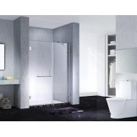 Buy cheap Fashion Design Frameless Slimline Rectangle Shower Enclosure With Pivot Door, AB from wholesalers