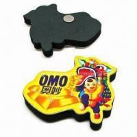 Buy cheap Refrigerator magnet, made of paper or rubber, flat or 3D cubic product
