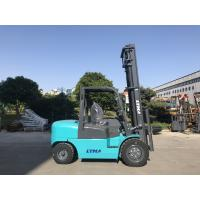 Buy cheap Hydraulic Transmission 4 Ton Forklift Truck Diesel Power Unit With Three Mast product