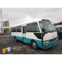 Buy cheap toyota coaster mini Tourist bus 30 passenger diesel 1HZ engine japan luxury bus from wholesalers