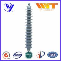 Buy cheap Transmission Line Composite ZnO Surge Arrester with External Series Gaps , 220KV High Voltage product