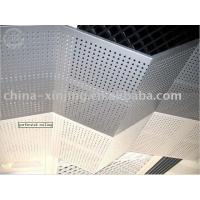Buy cheap Decorative Aluminum Ceiling Panel in Triangle Arc Design product
