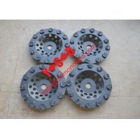 China 7 Inch 180mm Diameter PCD Chip Diamond Cup Wheel for Epoxy , Paint, Glue Coating Remocal on sale