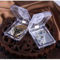 Buy cheap Delicate Durable Acrylic Jewelry Display Case Recycyled With Cast Acrylic product