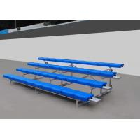 Buy cheap Fixed Aluminum Stadium Bench Seating Bleachers Grandstands With Little Maintenance product