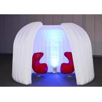 Buy cheap Meeting Advertising Inflatable Tent Programmed Change Intermittently Colors product