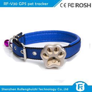 Buy cheap Smallest mini gps tracker pet for cat IP66 waterproof reachfar rf-v30 product