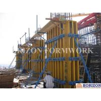 Quality Vertical Shear Wall Formwork Easily Assembled Plumbed By Push Pull Brace for sale