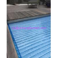 Buy cheap Automation Swimming Pool Control System Inground Type Pool Covers With Polycarbonate Mat product