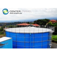 Buy cheap 0.25mm Glass Fused Steel Tanks For Industrial Wastewater Treatment product