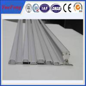 Buy cheap 6063 T5 led aluminum profile for led strip lights, aluminium led lighting profile product