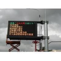 Buy cheap P6.25 Outdoor Traffic LED Display Road Side Information LED Board product