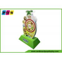 Buy cheap Two Sides Full Printing Flooring Standee Display For Baby Cream AD021 from wholesalers