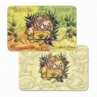 Buy cheap Cutting Board Plastic Placemats, Customized Designs are Accepted, Made of PP, Suitable for Kitchen product