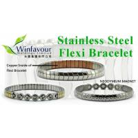 Buy cheap stainless steel magnetic bracelet from wholesalers