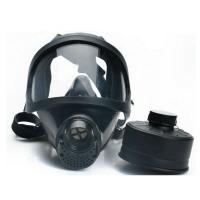 Buy cheap Anti - Dust Full Face Respirator Masks , Protective Gas Mask Chemical Resistance product