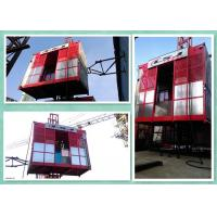 Quality Electrical Control Construction Material Hoist Lift With Two Motors Drive for sale