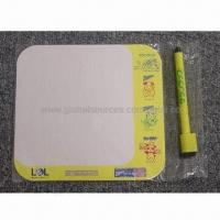 Buy cheap Magnet writing board, made of art paper and soft magnet, non-toxic product