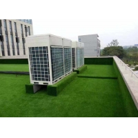 Buy cheap Green Recycling Polyethylene Artificial Grass On Flat Roof product