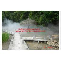 Buy cheap Outdoor Fogging System Water Fountain Project For Hot Spring Project product