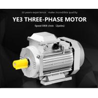 Buy cheap High Efficiency AC Motor Three Phase , Energy Efficient Induction Motor Cast Iron Body product